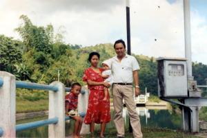 1 bersama Budi dan Pipik di Baro Raya Aceh th 89