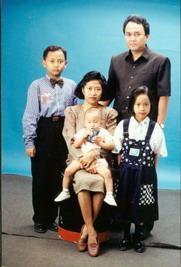 1 foto keluarga di tahun 90-an