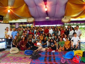 1 interfaih dengan teman-teman ashram th 2012